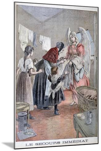 Immediate Help, 1899-Oswaldo Tofani-Mounted Giclee Print