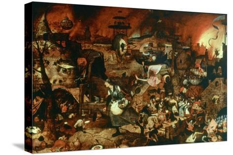 Dulle Griet' (Mad Me), C1562-Pieter Bruegel the Elder-Stretched Canvas Print