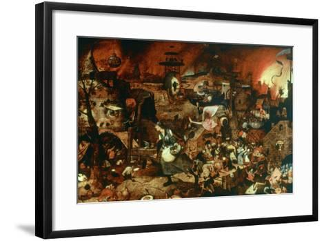 Dulle Griet' (Mad Me), C1562-Pieter Bruegel the Elder-Framed Art Print