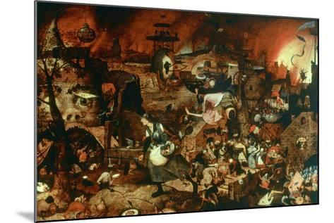 Dulle Griet' (Mad Me), C1562-Pieter Bruegel the Elder-Mounted Giclee Print