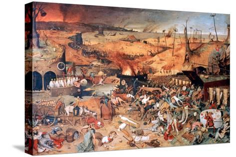 The Triumph of Death, C1562-Pieter Bruegel the Elder-Stretched Canvas Print