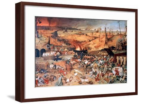The Triumph of Death, C1562-Pieter Bruegel the Elder-Framed Art Print