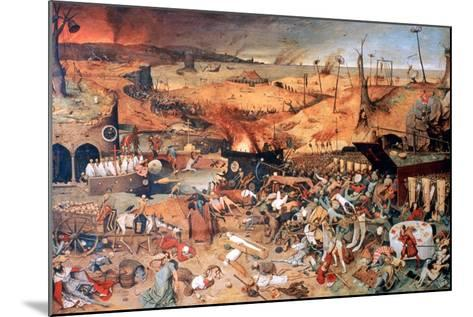 The Triumph of Death, C1562-Pieter Bruegel the Elder-Mounted Giclee Print