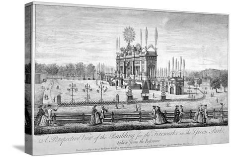 Green Park, Westminster, London, 1749-P Angier-Stretched Canvas Print