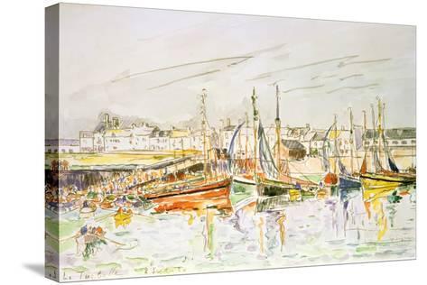 La Turballe, 1930-Paul Signac-Stretched Canvas Print