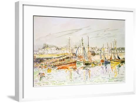 La Turballe, 1930-Paul Signac-Framed Art Print
