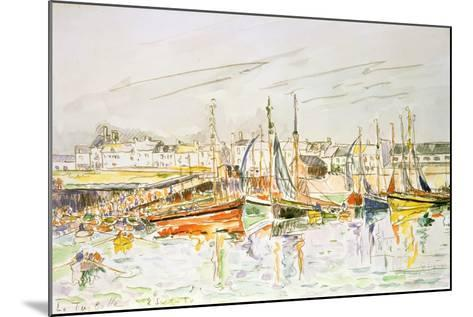 La Turballe, 1930-Paul Signac-Mounted Giclee Print