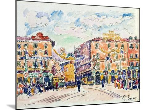 City Square, C1925-Paul Signac-Mounted Giclee Print