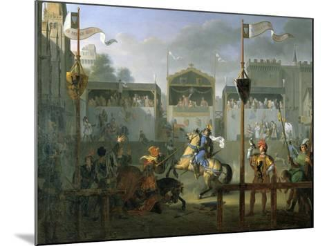 The Tournament, 1812-Pierre Henri Revoil-Mounted Giclee Print