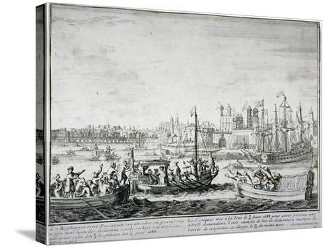 Tower of London, C1688-P Pickaert-Stretched Canvas Print