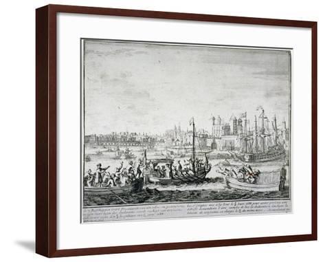 Tower of London, C1688-P Pickaert-Framed Art Print
