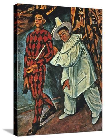 Arlequin Et Pierrot, 1888 Giclee Print by Paul Cézanne   Art.com