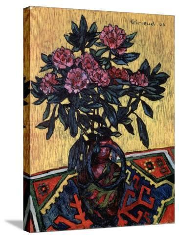 Peonies, 1906-Pierre Paul Girieud-Stretched Canvas Print