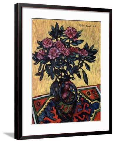 Peonies, 1906-Pierre Paul Girieud-Framed Art Print