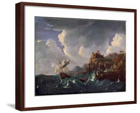 Stormy Sea, 17th Century-Pieter Mulier the Younger-Framed Art Print