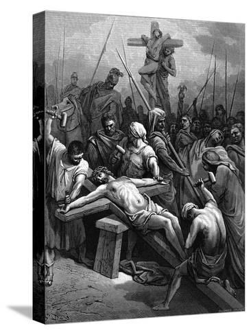 Crucifixion, 1866-Gustave Dor?-Stretched Canvas Print
