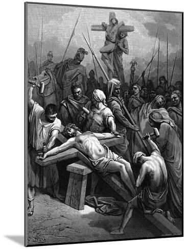 Crucifixion, 1866-Gustave Dor?-Mounted Giclee Print