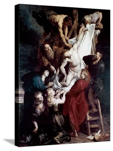 Descent from the Cross, C1612-1614-Peter Paul Rubens-Stretched Canvas Print