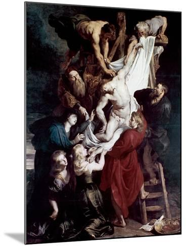 Descent from the Cross, C1612-1614-Peter Paul Rubens-Mounted Giclee Print