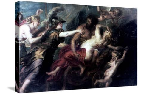 The Abduction of Proserpina, 1632-Peter Paul Rubens-Stretched Canvas Print