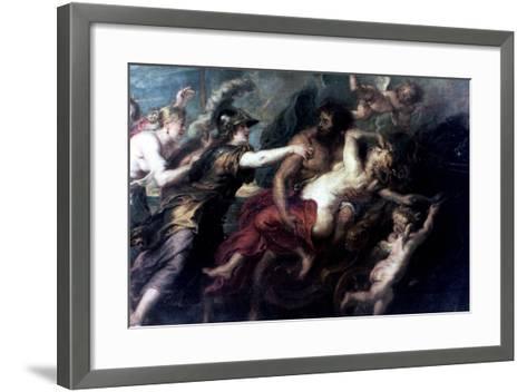 The Abduction of Proserpina, 1632-Peter Paul Rubens-Framed Art Print