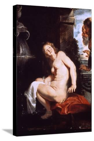 Susanna and the Elders, C1614-Peter Paul Rubens-Stretched Canvas Print