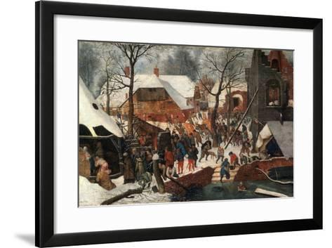 The Adoration of the Magi, Second Half of the 16th Century-Pieter Brueghel the Younger-Framed Art Print
