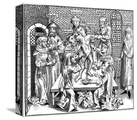 The Martyrdom of Simon of Trent, 1493-Pierre Wolgmuth-Stretched Canvas Print