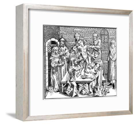 The Martyrdom of Simon of Trent, 1493-Pierre Wolgmuth-Framed Art Print