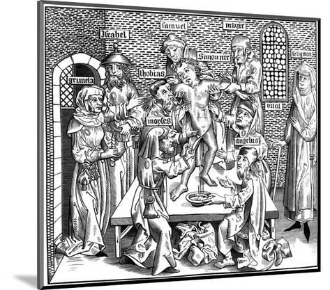 The Martyrdom of Simon of Trent, 1493-Pierre Wolgmuth-Mounted Giclee Print