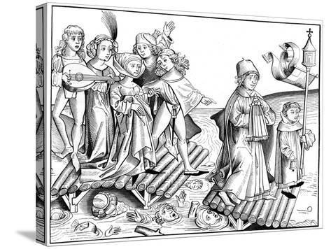 Le Passage Du Viatique, 1493-Pierre Wolgmuth-Stretched Canvas Print