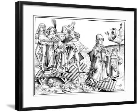 Le Passage Du Viatique, 1493-Pierre Wolgmuth-Framed Art Print