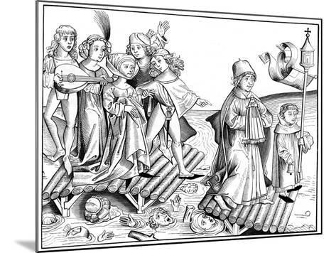 Le Passage Du Viatique, 1493-Pierre Wolgmuth-Mounted Giclee Print