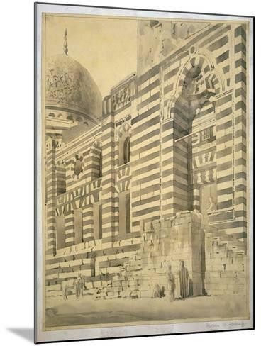 Mosque of Ashraff, 19th Century-Richard Phene Spiers-Mounted Giclee Print