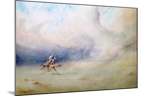 Storm in the Desert, 1901-Robert Talbot Kelly-Mounted Giclee Print