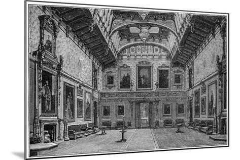 The Waterloo Chamber, Windsor Castle, 1880-Robert Taylor Pritchett-Mounted Giclee Print
