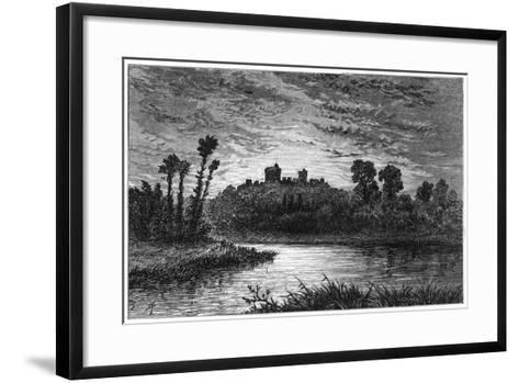 Windsor, from the East Approach, 1880-Robert Taylor Pritchett-Framed Art Print