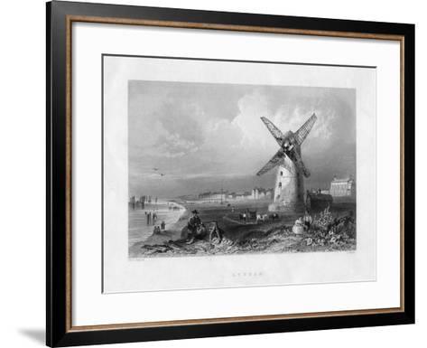Lytham, Lancashire, 19th Century-R Wallis-Framed Art Print