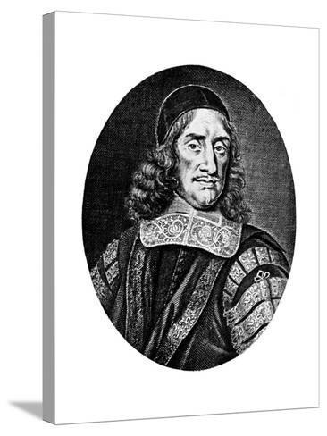 Sir Orlando Bridgeman, 17th Century-R White-Stretched Canvas Print