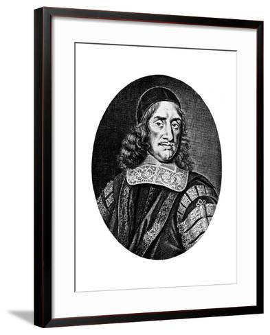 Sir Orlando Bridgeman, 17th Century-R White-Framed Art Print