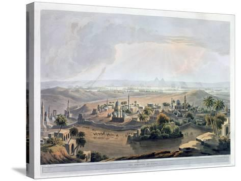 The Pyramids at Cairo, 1809- Rawle-Stretched Canvas Print