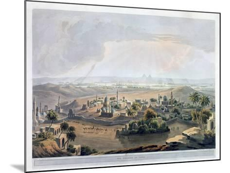 The Pyramids at Cairo, 1809- Rawle-Mounted Giclee Print