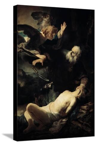 Abraham Sacrificing Isaac, 1635-Rembrandt van Rijn-Stretched Canvas Print