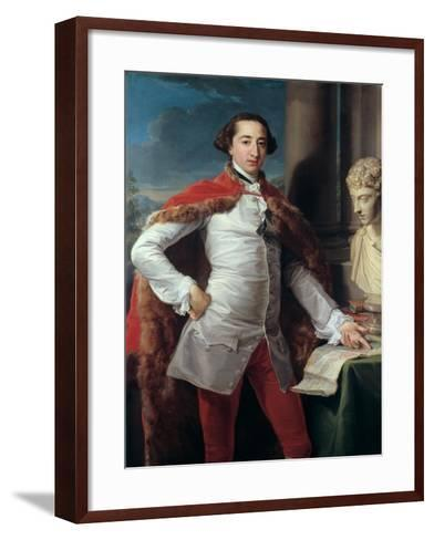 Portrait of Richard Milles-Pompeo Batoni-Framed Art Print