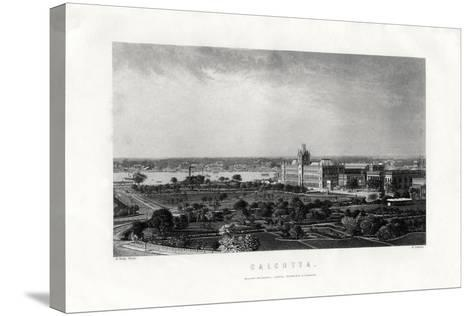 Calcutta, Capital of the Indian State of West Bengal, India, 19th Century-R Dawson-Stretched Canvas Print