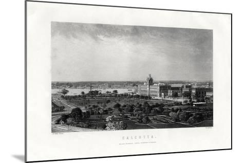 Calcutta, Capital of the Indian State of West Bengal, India, 19th Century-R Dawson-Mounted Giclee Print
