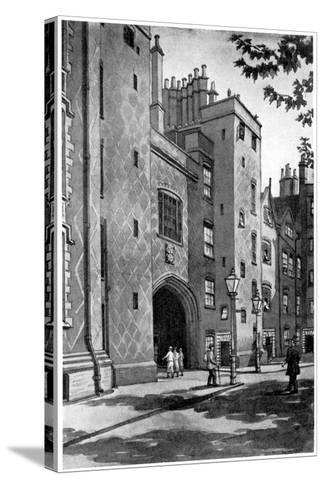 Old Gateway to Lincoln's Inn, London, 1933-RA Wilson-Stretched Canvas Print