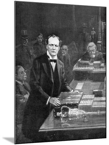 7th May, the Meeting of the House of Commons, Westminster, London, 1910-Ralph Cleaver-Mounted Giclee Print