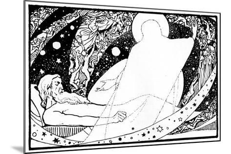 Drawing for the Book of Job, 1913-Robert Traill Rose-Mounted Giclee Print