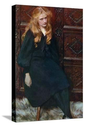 Ethel, 1897-Ralph Peacock-Stretched Canvas Print